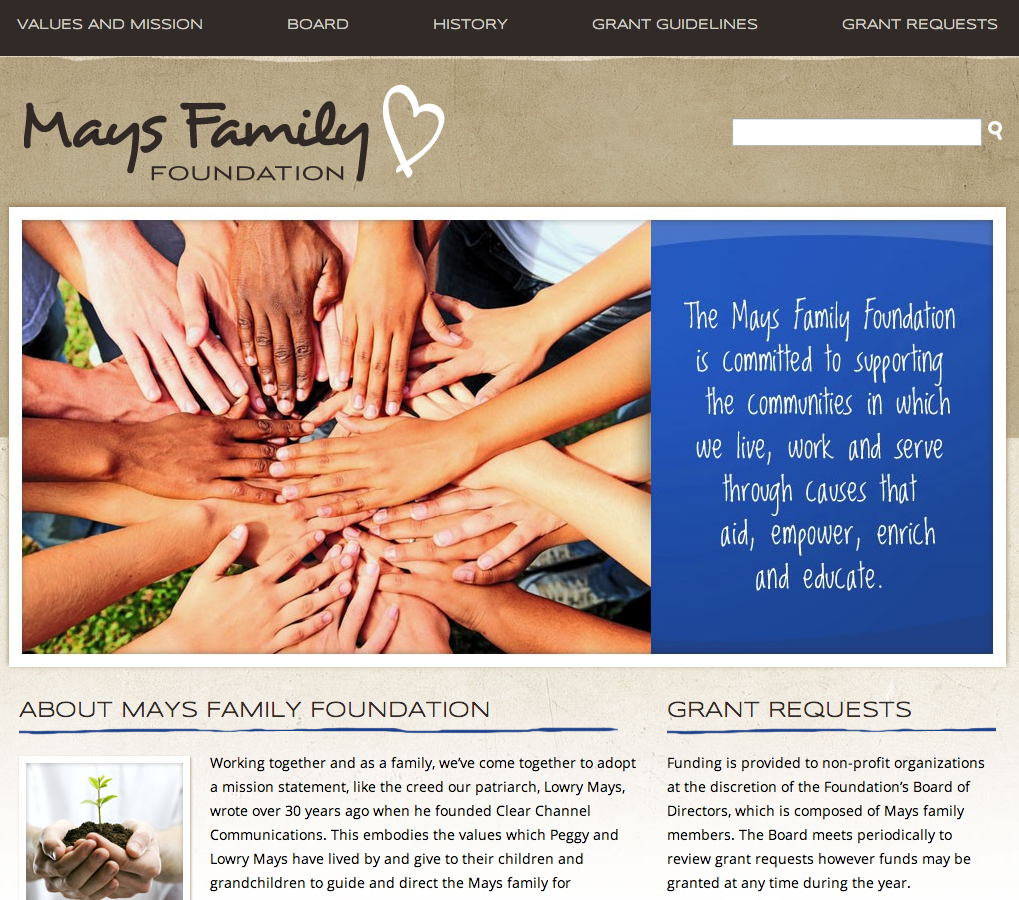 Board of Directors | Mays Family Foundation